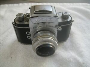 AlteFotokamera Exa Ihagee Dresden mit E.Ludwig 2,9/50 Objektiv