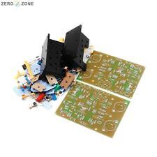 DIY QUAD405 CLONE Amplifier kit MJ15024+Angle aluminum (2 channel) 100W+100W AMP