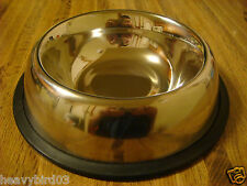 #103 SECRET HIDDEN DIVERSION SAFE-19 OZ DOG - CAT BOWL / CAN 98% ALL METAL!