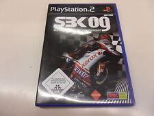 PLAYSTATION 2 PS 2 SBK 09 Superbike World Championship