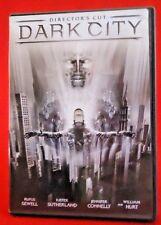 Dark City (DVD, 2008, Director's Cut) Rufus Sewell, Jennifer Connelly
