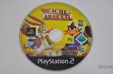 Acme Arsenal-juego de Playstation 2-Sony-PAL-PS2-Pulido & Probado