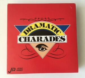 Dramatic Charades Board Game - 1997 Jedco Games - 100% Complete