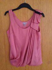 H&M Top Bluse rosa Gr. 36 S Seide Blogger Trend Studio Strass ausverkauft