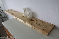 Wandboard Pappel Maser Massiv Holz Board Regal Steckboard Regalbrett NEU
