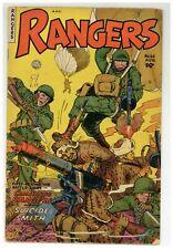 Rangers Comics 66 The Eye Cowboy Bob Suicide Smith 1952 Fiction House (j#2112)
