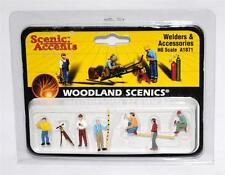 Woodland Scenics SURVEYORS HO scale A1833 IN WELDERS 1871 PACKAGE! factory error