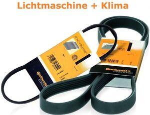 2 x Contitech V-Ribbed Belts BMW 5er E39 535/540 I M5 7er 735/740 I/Il X5 4.4