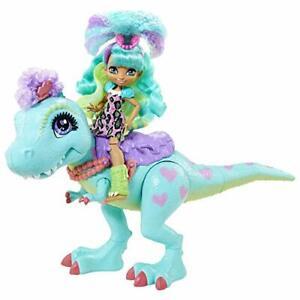 Mattel Cave Club Rockelle Doll Tyrasaurus Dinosaur Pal Playset with Accessories