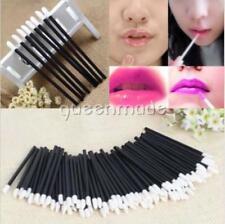 50pcs Disposable Lipbrush Lip Gloss Wands Lipstick Applicator Cosmetics JA