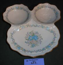 Vintage Limoges France Divided Relish Candy Tray Plate Dish