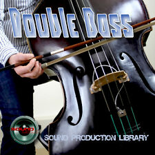 DOUBLE BASS REAL - UNIQUE Perfect WAVE/NKI Multi-Layer Samples Library on DVD