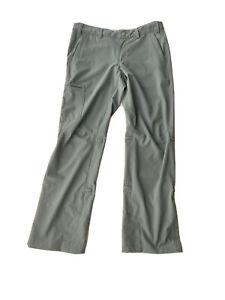 "REI convertible pants capri Roll Up women's size 6 x29"" petite gray stretch/b220"