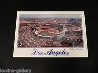 Dodger Stadium LOS ANGELES Ca. BASEBALL LA California Civic Center CAR Postcard