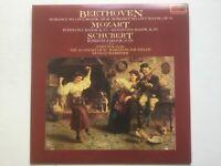 L.v. Beethoven Vinyl LP Romance No.1&2 Mozart Schubert Josef Suk Neville Mariner