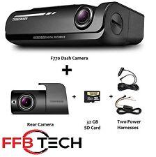 Thinkware F770 KIT 1080p HD Dash Cam 32GB Night Vision WiFi GPS +Rear +Hardwire