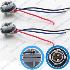 2 Pieces of  1157 2357 Signal LED Bulb Lights Socket Harness Plug
