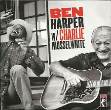 BEN HARPER & CHARLIE MUSSELWHITE Unreleased Session TRX PROMO 7 INCH Vinyl SEALD