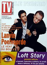 TV MAGAZINE 2003: GERARD LANVIN_BENOIT POELVOORDE_DAVID CHARVET_GERARD KLEIN