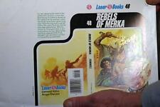 KELLY FREAS LASER #15 BOOK COVER PROOF SIGNED STARWEB BY GEORGE ZEBROWSKI