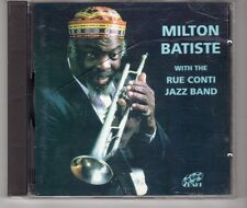 (HG845) Milton Batiste With The Rue Conti Jazz Band - 1993 CD
