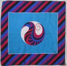 -Foulard GRÈS Paris  soie TBEG vintage scarf  74 x 76 cm