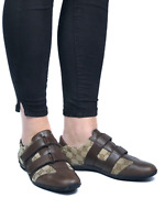 GUCCI women's beige canvas guccissima sneakers|Size EUR 38.5/US 7.5 (9.8in/25cm)