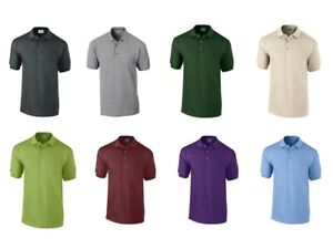 GILDAN Herren Poloshirt Polo Hemd Shirt Baumwolle Ultra Cotton 3800 NEU