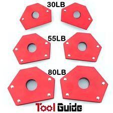 6PC 30lb+55lb+80lb Magnetic Welding Holders Multi Angles Purpose Megnet Clamp