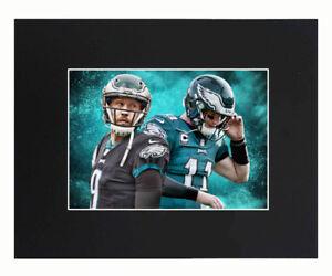 Philadelphia Eagles 2018 Super Bowl Champions Nick Foles Carson Wentz Print 8x10
