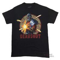 Deadshot On Target DC Comics Licensed Adult T Shirt