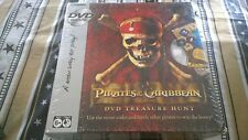 Pirates of the Caribbean DVD Treasure Hunt sealed