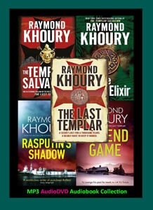 The LAST TEMPLAR Series By Raymond Khoury (5 MP3 Audiobook Collection)