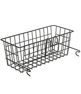 "Medline Walker Basket for 2 Button Walkers with Rust-proof Coating  5.5""x16""x7"""