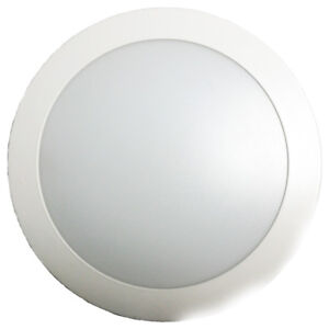 DOWNLIGHT 30W LED ROND BLANC 3000°K 120° IP20/IP44 2300LM