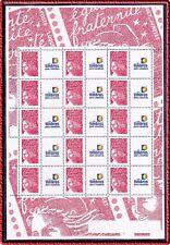2006 Bloc FRANCE N°3417a** FEUILLE PERSONNALISEE Marianne de Luquet Vignette TP