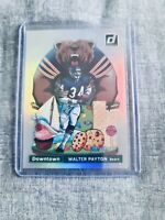 2020 Donruss Football Downtown Walter Payton # D-WP Chicago Bears SP RARE