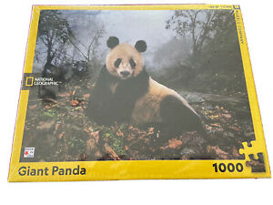 NATIONAL GEOGRAPHIC GIANT PANDA 1000 PIECE JIGSAW PUZZLE BRAND NEW SEALED