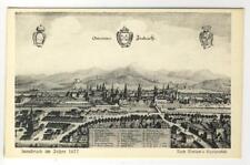 AK Innsbruck im Jahre 1677, Merian´s Kupferstich