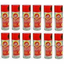 12 Cans Fluid Film Spray Fits 11.75 Oz Aerosol Each Lubricant Rust Preventative