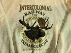 Intercolonial Railway sweatshirt, Adult Large - Train Station Inn Nova Scotia
