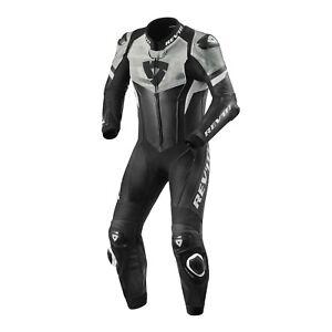 Sportliche Rev'it Einteilige Motorrad Lederkombi Hyperspeed Größe 52