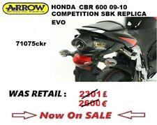 HONDA CBR 600 09 2009 10 2010 EXHAUST ARROW COMPETITION SBK REPLICA EVO