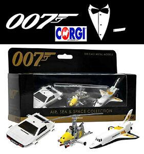 Corgi TY99283 James Bond Collection Space Shuttle, Little Nellie, Lotus Esprit