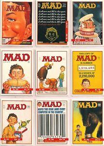 1992 MAD MAGAZINE SERIES 1 COMPLETE BASIC TRADING CARD SET