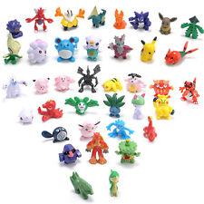 Lots 24pcs/Set Mixed Random Mini Pokemon Figures Doll Kids Children Baby Toy