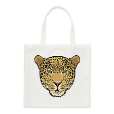 LEOPARDO Viso Borsa piccola - divertente animale shopper spalla
