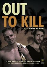 OUT TO KILL gay murder mystery movie DVD - brand new / sealed - Rob Williams