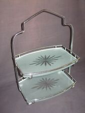 VINTAGE ART DECO ~ TWO TIER CAKE STAND