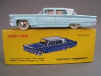 "Lincoln ""PREMIERE""  in hellblau DINKY TOYS 104 NEU  OVP"